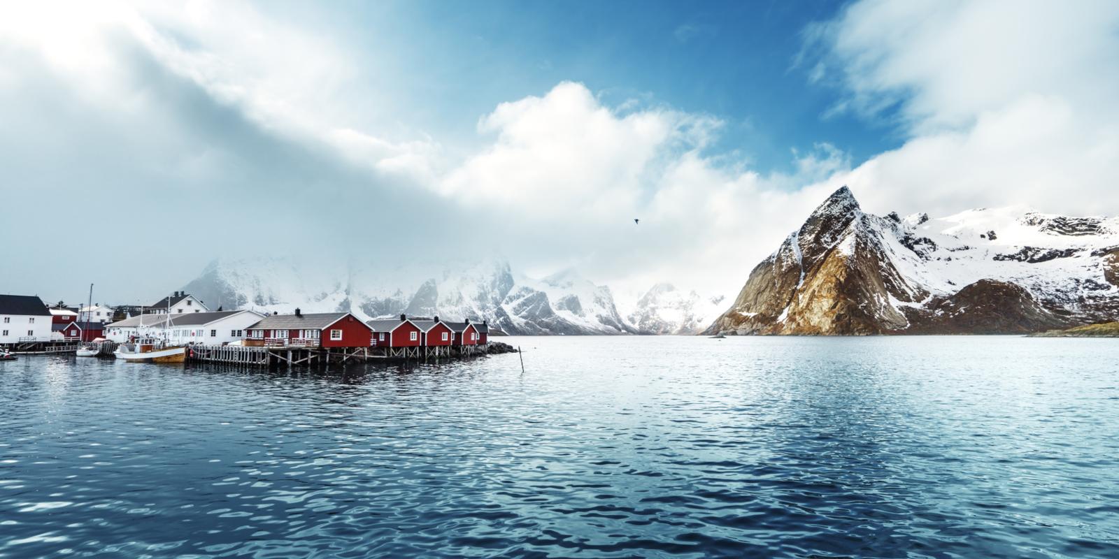 Îles Lofoten Omega 3 naturels NORSAN