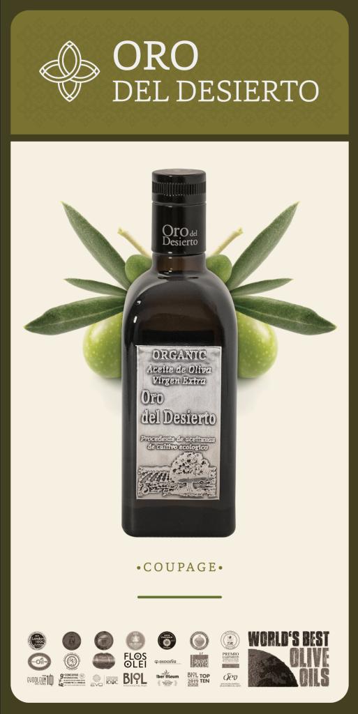 Huile d'olive Desierto Olio Coupage
