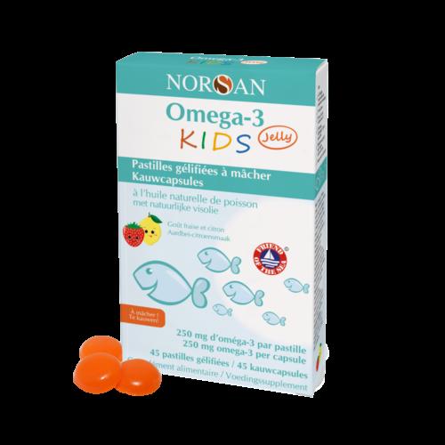 Norsan Omega 3 KIDS Jelly