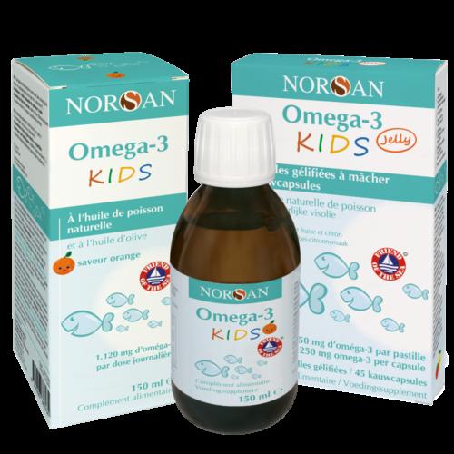 Norsan Omega 3 Kids + Pastilles